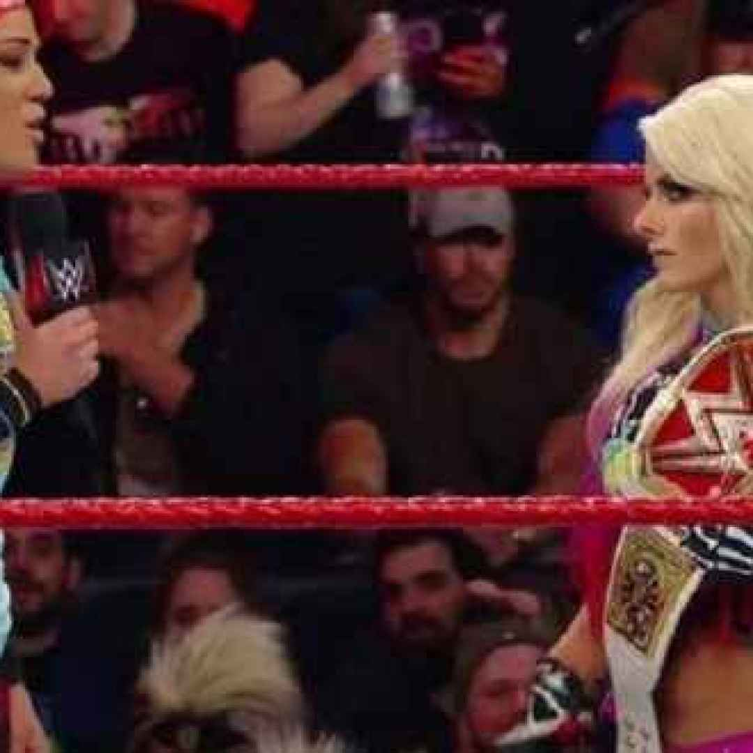 wwe  alexa bliss  bayley  wrestling