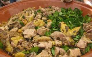 Ricette: ricetta  cucina  borghi  sardegna  pollo