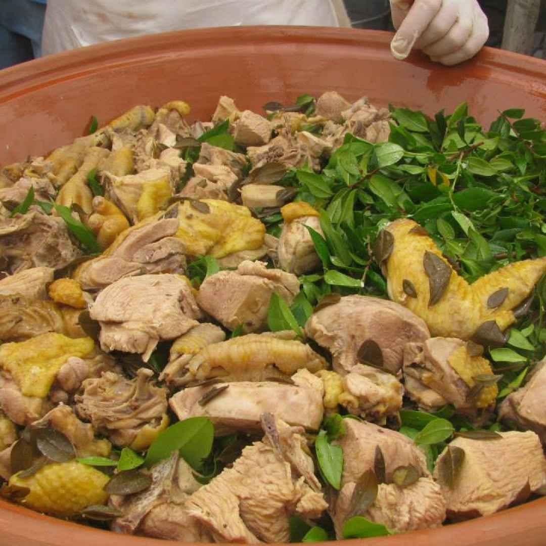 ricetta  cucina  borghi  sardegna  pollo