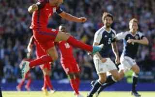 Calcio Estero: scozia  inghilterra  video gol