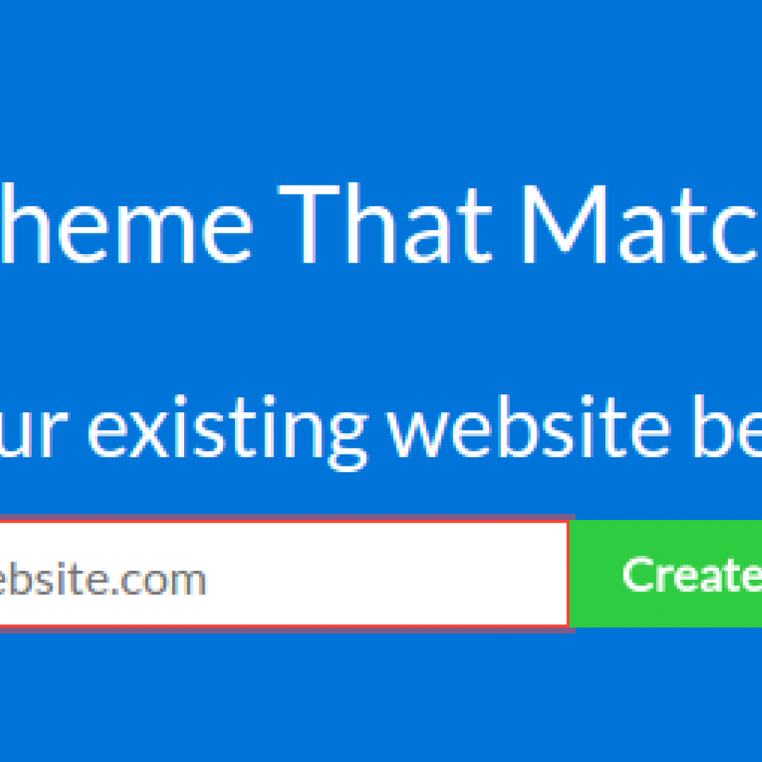theme  matcher  wordpress