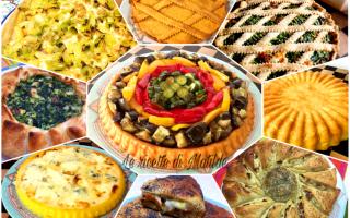 Ricette: torte salate  feste  aperitivo