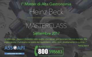 Lavoro: assoapi  master  heinz beck  formazione