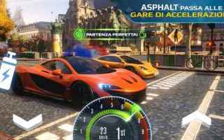 Mobile games: android iphone asphalt csr auto gameloft