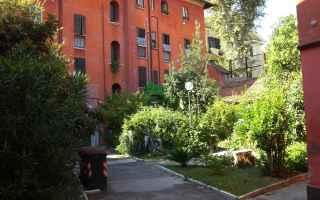 cortile spazi comuni proprietà