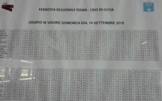 Roma: roma-lido  orari  trasporto pubblico