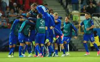 Nazionale: calcio  italia  danimarca  europei