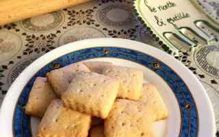 Ricette: biscotti  frollini  olio  dolci