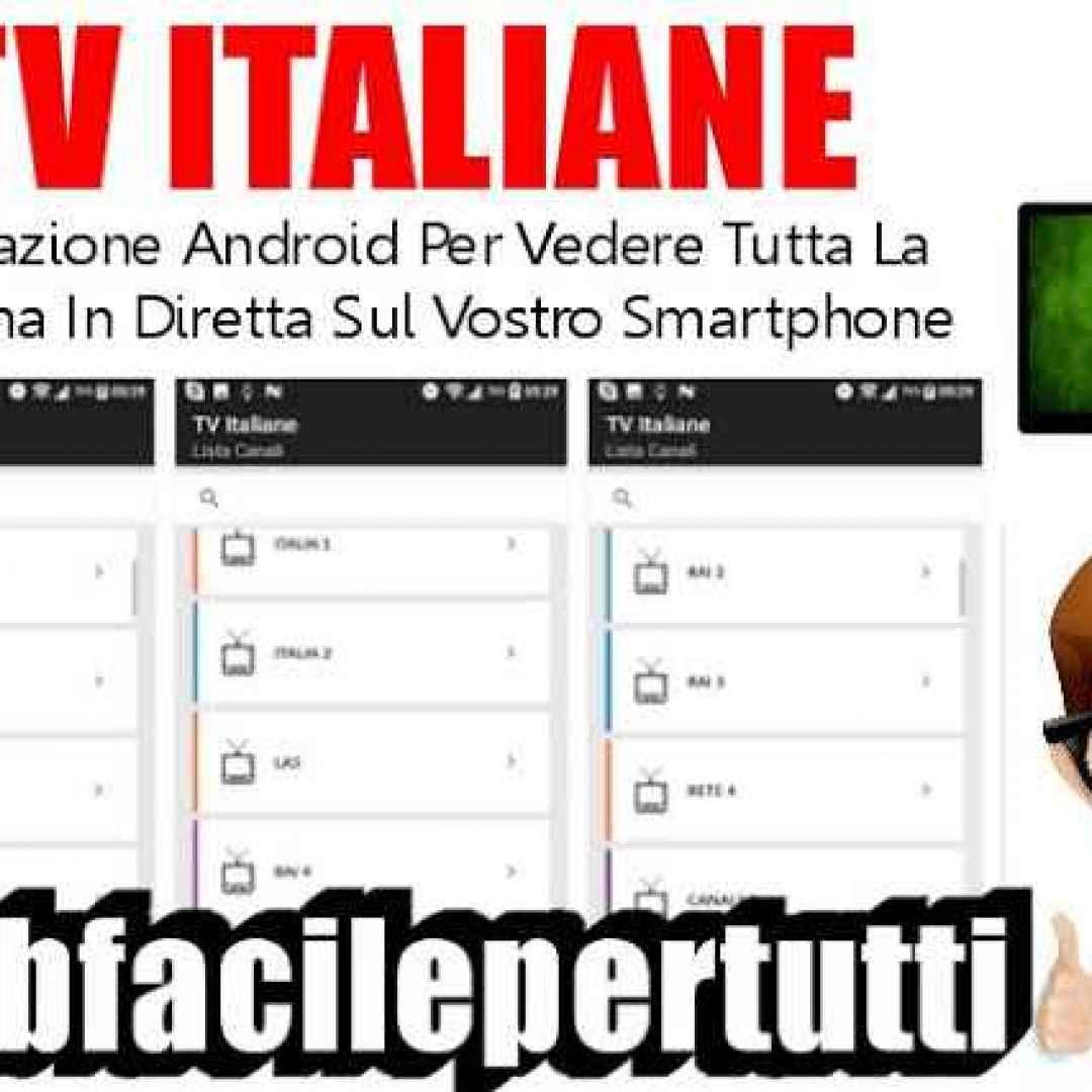 tv italiane app streaming
