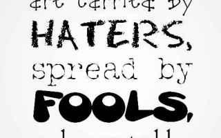 Social Network: cattiveria nei social network  odio