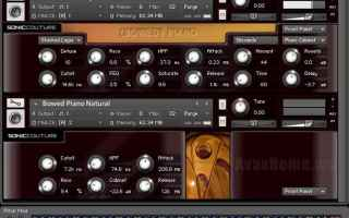 Audio: bowed piano  home recording  vsti
