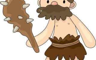 Storia: uomo primitivo  carne  alimentazione