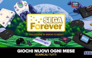Mobile games: sega forever  sega  retrogaming