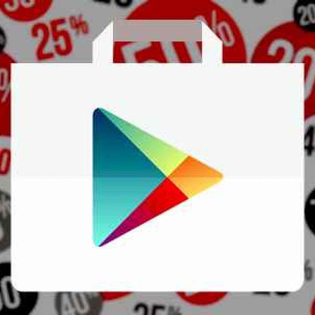 sconti giochi applicazioni android