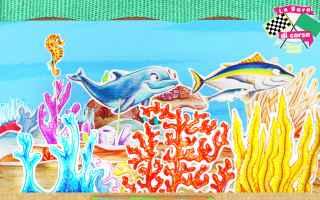 Un tonno, un delfino ed una medusa che si sfidano? tutto è possibile nel teatrino dei piccoli, un n