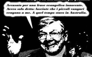 Satira: cardinale pell  pedofilia  vaticano