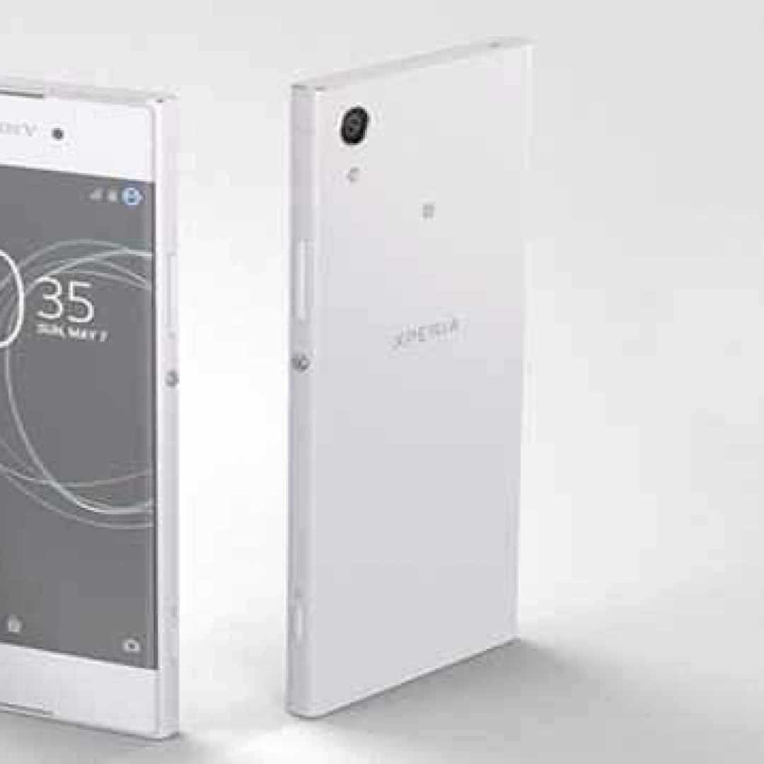 sony  xperia xa1  smartphone  android