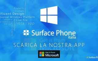 Cellulari: surface phone  surface note  windows 10