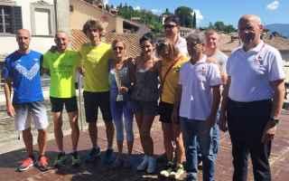 Atletica: podismo fratres anghiari corsa