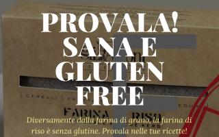 Alimentazione: farina  riso venere gluten-free