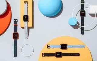 amazfit bip  wereable  smartwatch