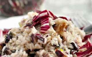 Ricette: risotto  veneto  radicchio  cucina