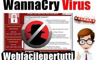 Sicurezza: wannacry