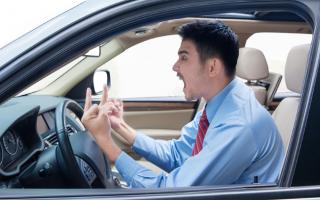 Psiche: rage road  rabbia  auto  volante