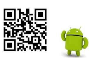 Android: qr code android codici applicazioni