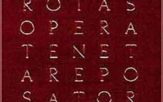 Cultura: pompei  quadrato magico  sator