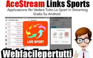 File Sharing: app  acestream  links  sports