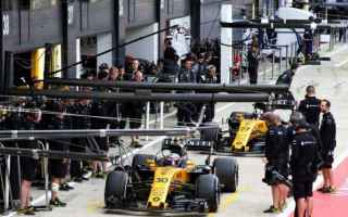 Formula 1: silverstone  renault  hulkneberg  palmer