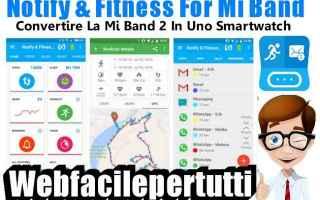 App: notify & fitness mi band app
