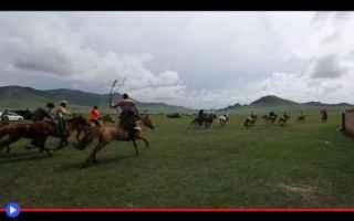 dal Mondo: sport  mongolia  asia  steppe  lotta