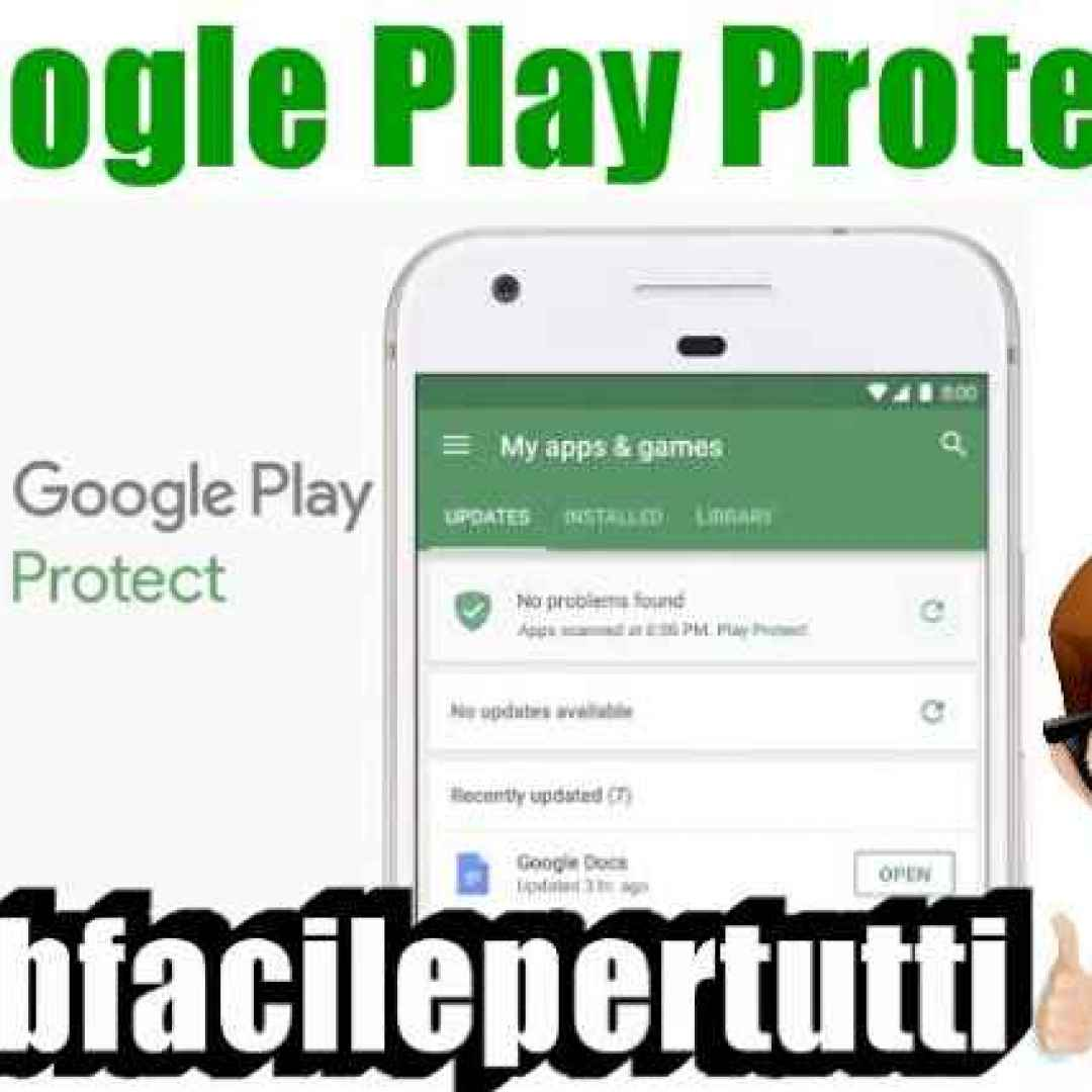 google play protect google sicurezza