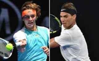 Tennis: tennis grand slam zverev nadal