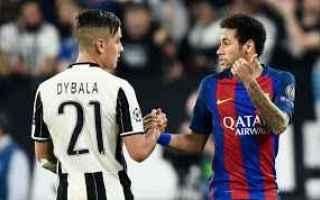 Calciomercato: neymar  dybala  juve  bernardeschi