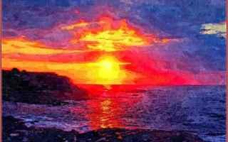 Cultura: crepuscolo  heinrich heine  tramonto