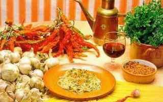 Ricette: olio  pasta  peperoncino  aglio