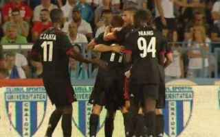 europa league  milan  craiova  video gol