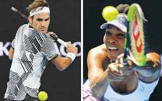 Tennis: tennis grand slam venus federer
