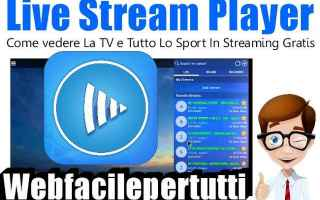 File Sharing: live  stream  player  app