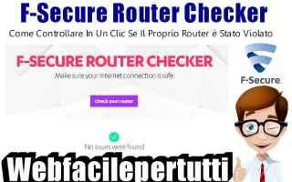 Sicurezza: sicurezza router