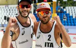 Sport: beach volley  vienna  lupo  nicolai
