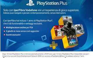 playstation ps4 fastweb vodafone