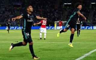 Calcio Estero: real  united  supercoppa  casemiro  isco