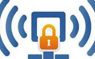 Sicurezza: password  wifi  internet