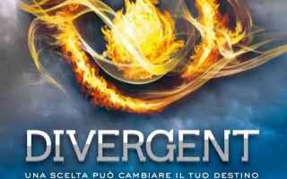 Libri: divergent  veronica roth  romanzo  saga