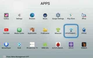 Android: tv box  firmware  aggiornamento