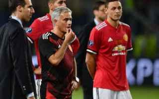 Calcio Estero: mourinho  manchester united